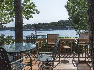 Conveniently Located Lakefront Home – Gorgeous Views – Private Dock In Cove