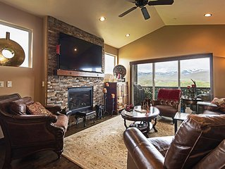 Park City Area - 8 Min Drive To Resorts - Jacuzzi - Mountain Views