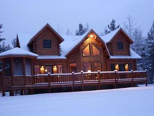 Grand Jay Luxury Lodge, Stunning Views, Near Whiteface & Lake Placid