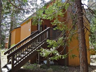 Shaver Haven Condominium: 2 BR / 2 BA  in Shaver Lake, Sleeps 4