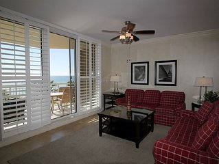 Luxurious Gulf Front Updated Unit at Indigo- Upscale with Free Beach Service!
