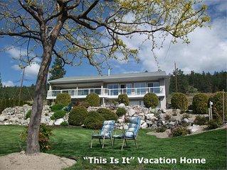 Family Friendly  Home In Beautiful Okanagan Valley Near  Wineries, Beach & Lake.
