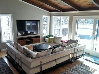 4 Bedroom Killington Ski/Golf House with Hot Tub Minutes away from the Resort!