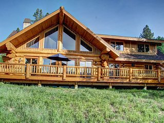 Lakefront Log Cabin with Private Dock