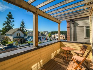 Luxury Harbor View Condo In Heart of Friday Harbor! - (Churchill Plaza #3)