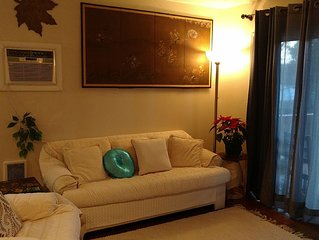 Peaceful Private Beautifully Furnished Air Cond. Apartment-Free WiFy & Cable.