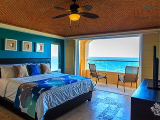 New Luxury Ocean Front Villa - Spectacular Caribbean Ocean Views