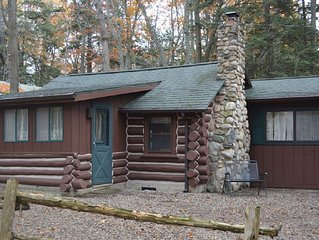 Spacious Log Cabin - Sleeping Bear National Lakeshore