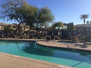 Charming 2 Bed 2 Bath Condo- Spa Amenities Relax & Enjoying Arizona