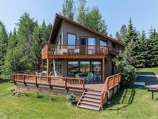 Beautiful lake view, four bedroom, two bath cabin, A West Mountain Cabin 2209,