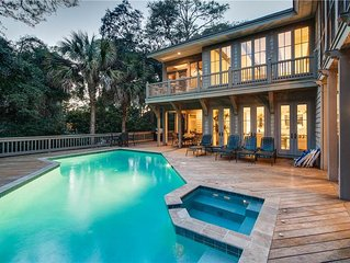 Gorgeous Large Home, w/ Private Pool & 1 Row from Beach - close to Beach Club *