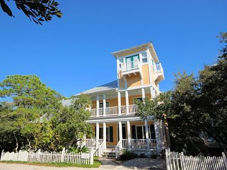 In Seaside Proper 'Coquina' 2 bedroom with Tower - Sleeps 6!