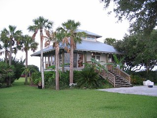 Island-style House On 200 Acre Preserve Overlooking The Tolomato River