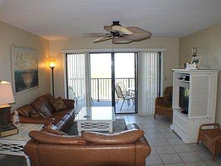 Upgraded Ocean/Beach Front Condo, Flat Screens, Wifi, 2 Balcony's