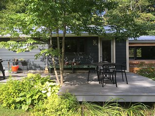Berkshires MidCenturyHideaway-Private, Yet Close To Town