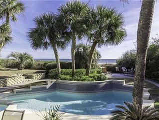 Charming Oceanfront Beach Cottage w/ Private Pool & Spa! Ask about 15-25%!