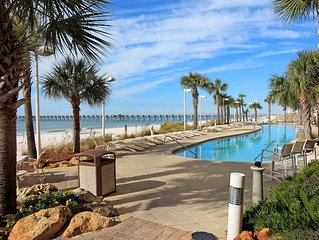 CALYPSO, WALK TO PIER PARK, 10TH FLOOR E, BEACH FRONT, 3 BED/2 BATH,, Panama City Beach