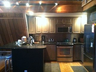 Holimont, Ski-in, Ski-Out. 5BR, 3.5bath a-Frame Chalet.