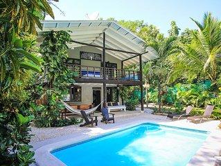 Beautiful Private Home W/ Pool, 5 Min Walk To Beach & World Class Surf Break!