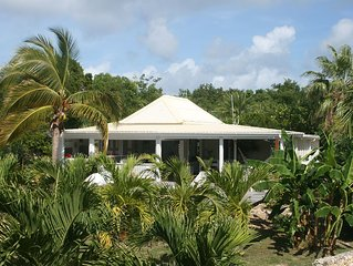 Caribbean Lodge In A Palmgrove For A Couple. Space, Privacy And Silence