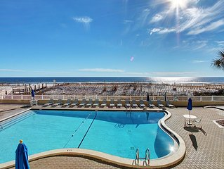 Sea Oats 203-2BR-*Call4Mar20%Off* Avail 4/13-4/18-RealJoy Fun Pass* -BeachFront