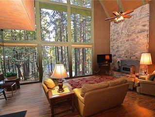 Elderberry Lodge: 4 BR / 2 BA  in Shaver Lake, Sleeps 8