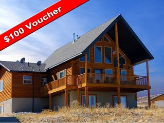 Harbor View Cabin with Beautiful Views and $100 voucher