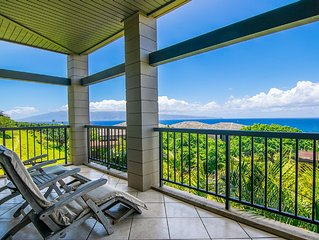 Kapalua Ridge Villa Gold! West Facing Sunset Views!