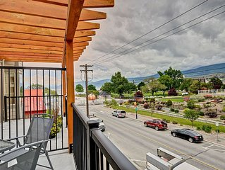 2 Bedroom Condo In Downtown Penticton - Short Walk To Okanagan Lake