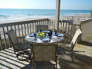 Ocean Dunes 1305 - Oceanfront, covered deck and a great view of the beach!
