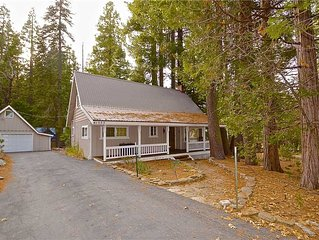 Mountain Memories: 3 BR / 2 BA  in Shaver Lake, Sleeps 10