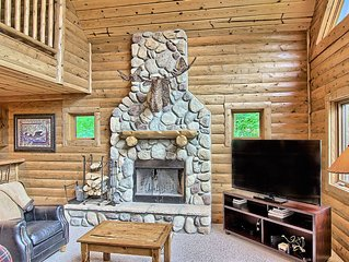 Technology Powered Simply Amazing 4 Bedroom Mountain Cabin at Boyne Mountain