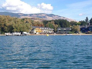 Kalamalka Lakefront With Private Beach and Boat Lift