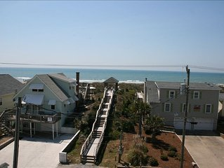 3 Story Condo - Great  Ocean View -  Private Beach Access