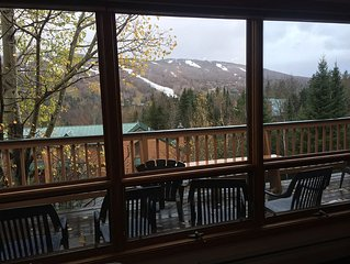 Wonderful 4 bedroom Condo with great views of the Bretton Woods Ski Area !