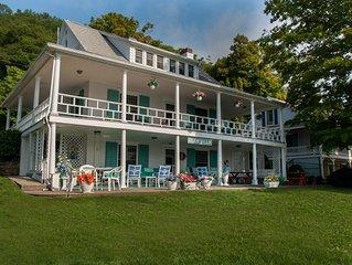 Glen Villa - Old World Lakeside Charm!