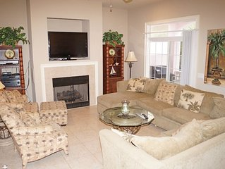 Perfect Family Vacation Spot! 5 BR/6.5 BA House With Pool Close To The Beac