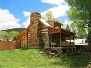Jordan Cabin Historic Semi Secluded  Setting Stream and cotton wood trees