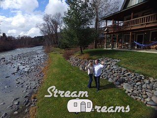 VR19-376 - Closest 4 bedroom river front to Wolf Creek Ski Resort