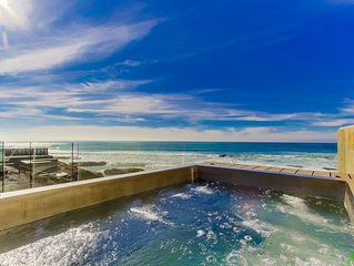 NEW LUXURY BEACHFRONT HOME--DIRECTLY ON GORGEOUS WHITE SAND BEACH