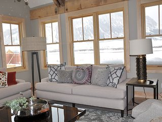 Nordic Ski-in-Ski out in town Crested Butte Home