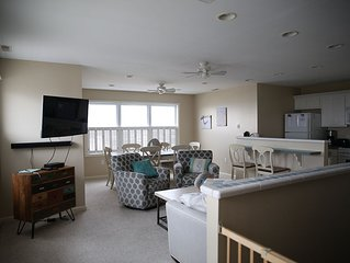 Breathtaking Beach & Ocean Views from this 3 BR, 2 BA, 2 Story N Wildwood Condo
