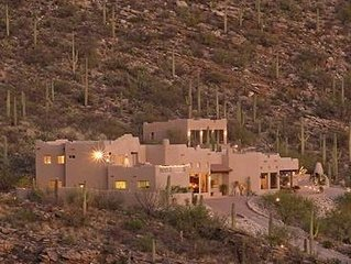 Airplane Views of Tucson Valley from Highest Luxury Home