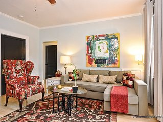 Charlotte Furnished Apartment in Historic Dilworth-most walkable neighborhood