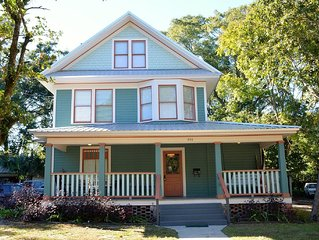 1912 three story home offers old world character and great location