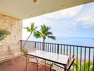 Hula Happiness - Ocean Front 2BD/2BA - Starting * $234.00/nt - Kihei Beach #409