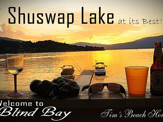 Book Your Summer Vacation in Blind Bay Shuswap Lake