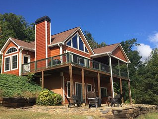 Upscale Mountain Getaway Near Lake Chatuge and Hiawassee
