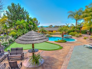 Incredible VRBO Home has a Heated Pool and Gorgeous Ocean and Sunset Views!!