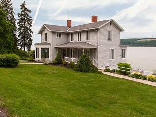 "Dean Lake House:""Historic Seneca Lake Home"""
